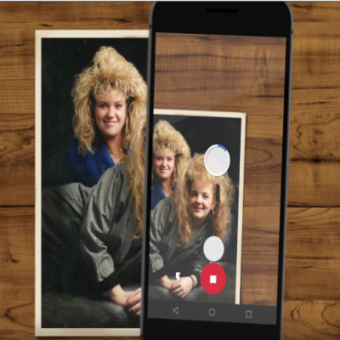 Photoscan, a new way to take old pictures.