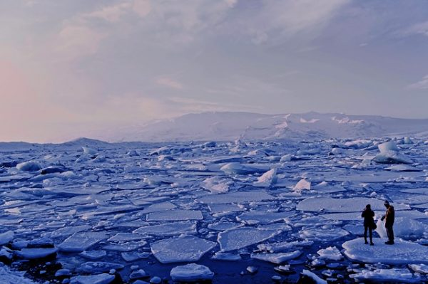 Antarctic Ice Shelf continues to deteriorate as Larsen Ice Shelf close to breaking point