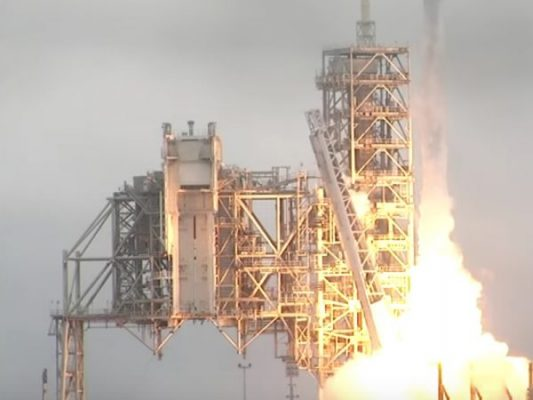 SpaceX launches a historic first successful private rocket from NASA's Cape Canaveral