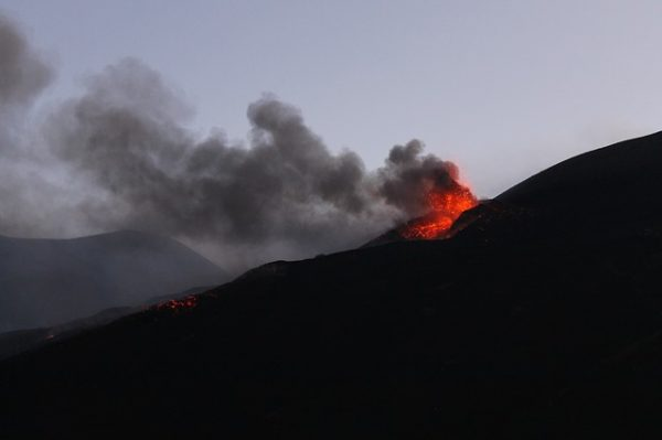 Sicilian volcano Mount Etna awakes from slumber and erupts