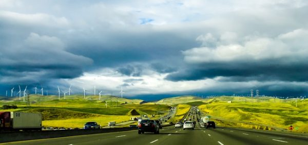 California Road Side Green Energy