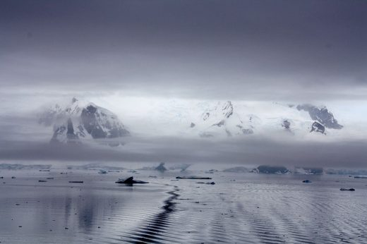 Antarctica ice floes
