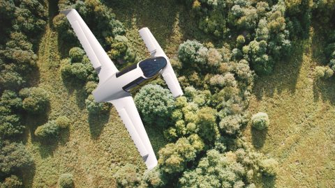 Lilium Jet Flying (electric airplane)