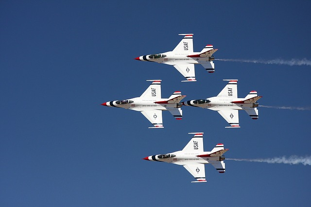 Thunderbirds in Flight