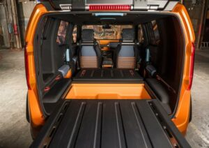 Toyota FT-4X Trunk, photo provided by Toyota