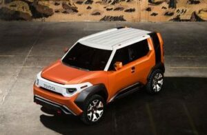 Toyota FT-4X, photo provided by Toyota