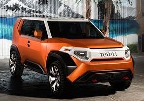 Toyota FT-4X Exterior, photo provided by Toyota