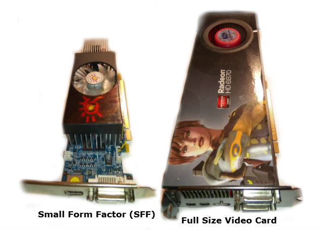 Video Card Sizes