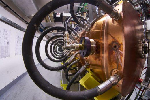 Linac 4 Accelerator Unveil, Cern