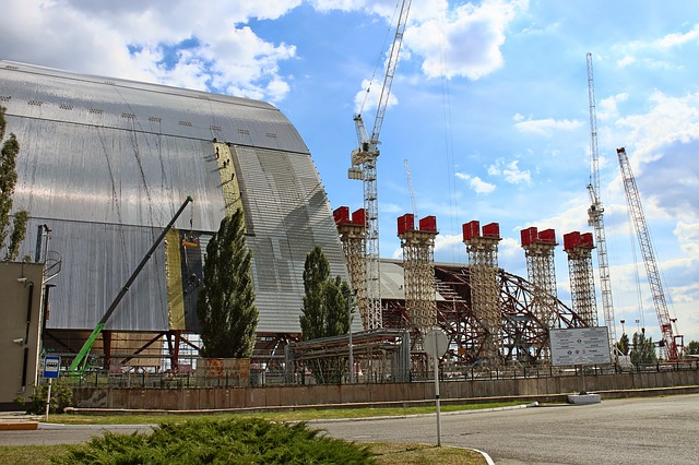 chernobyl sarcophagus building