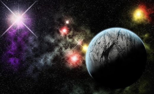 distant planets illustration  u2013 science and technology