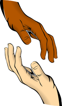hands illustration, body part cloning