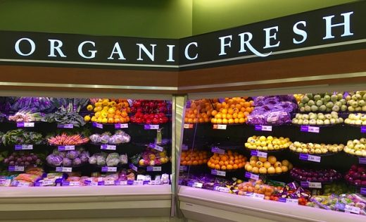 organic product section