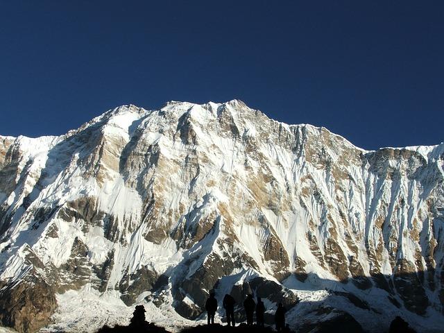 Annapurna Massif Mountain; Himalayas
