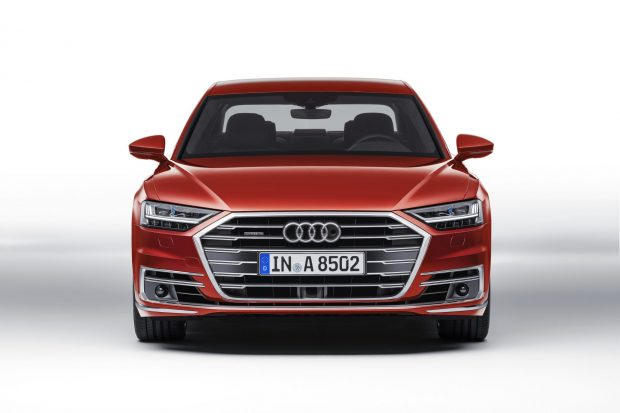 The New Audi A8 allows you to watch TV when driving