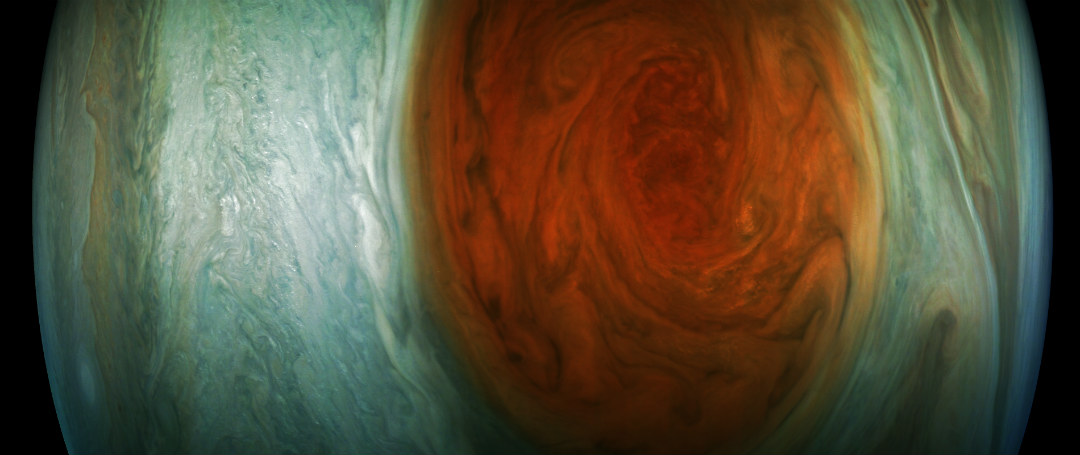 Jupiter Red Spot picture from Juno Small