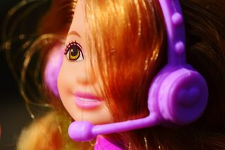 an example of a doll that might have a microphone