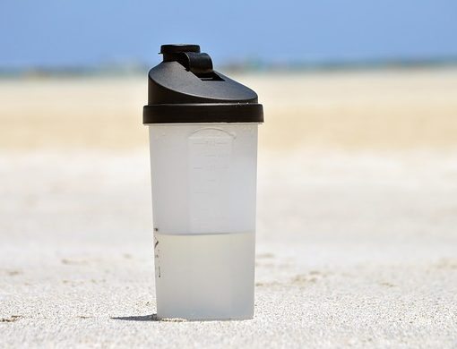 plastic bottles and high temperatures don't mix well