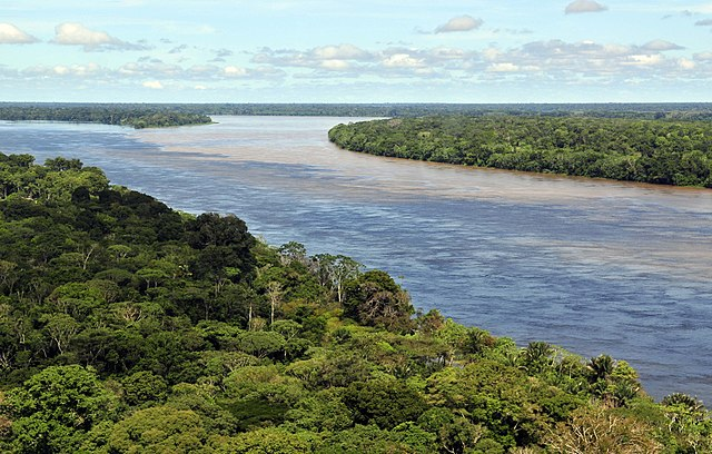The Amazon A river rich in history