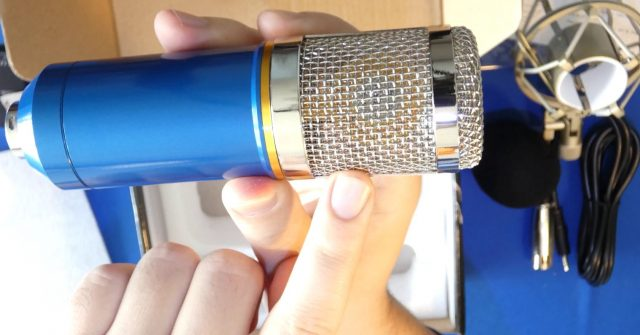 Is Realtek Audio strong enough to power XLR microphone.