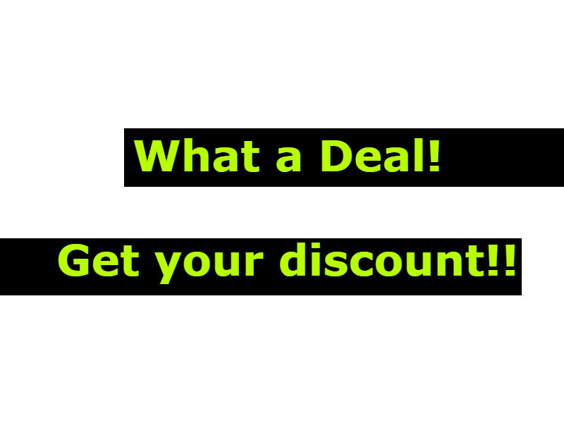 amazing deals and discounts on favorite items